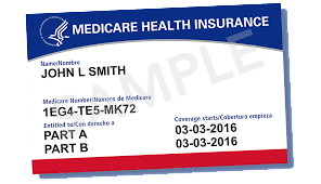 Medicare sample card